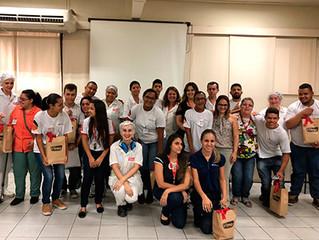 Projeto Deixe seu Legado oportuniza vivência de jovens com deficiência na empresa Vilma Alimentos