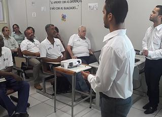Instituto apresenta palestra e desenvolve atividade de sensibilização para colaboradores da empresa