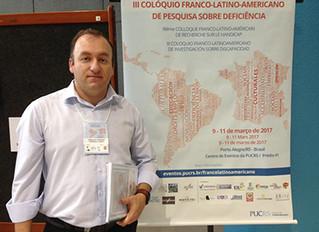 IMGI é apresentado em III Colóquio Franco-Latinoamericano de Pesquisa sobre Deficiência