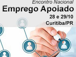 Instituto participará do Encontro Nacional do Emprego Apoiado