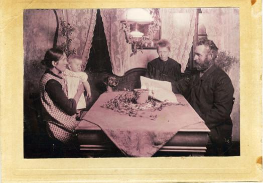 B 10 Chr. Egelund Larsen og kone Ane Pedersen