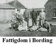 Artikler om fattige i Bording år 1900