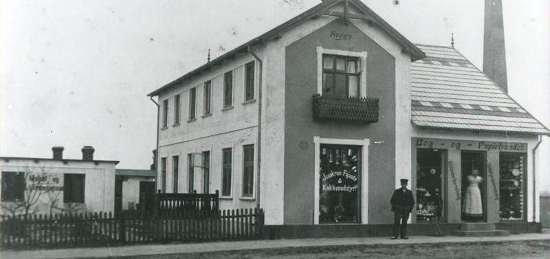 B46 Christen Nielsens Isenkramforretning, Bredgade 9.