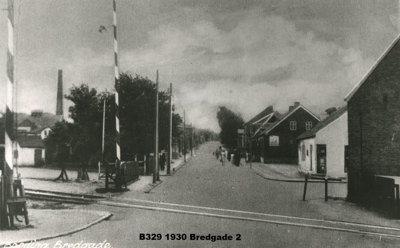 B329 1930 Bredgade set fra jernbane overskæringen