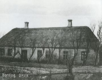 Bording Skole 1900 (Bording Kirkeby)
