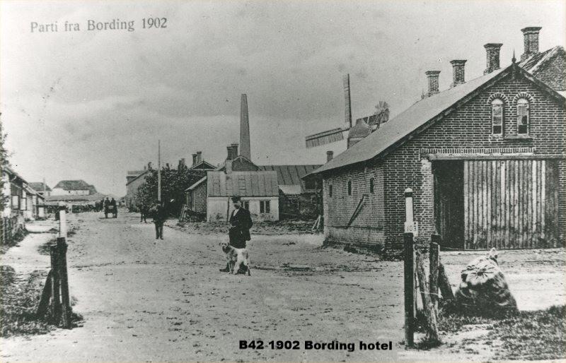 B42 1902 Bording Kro