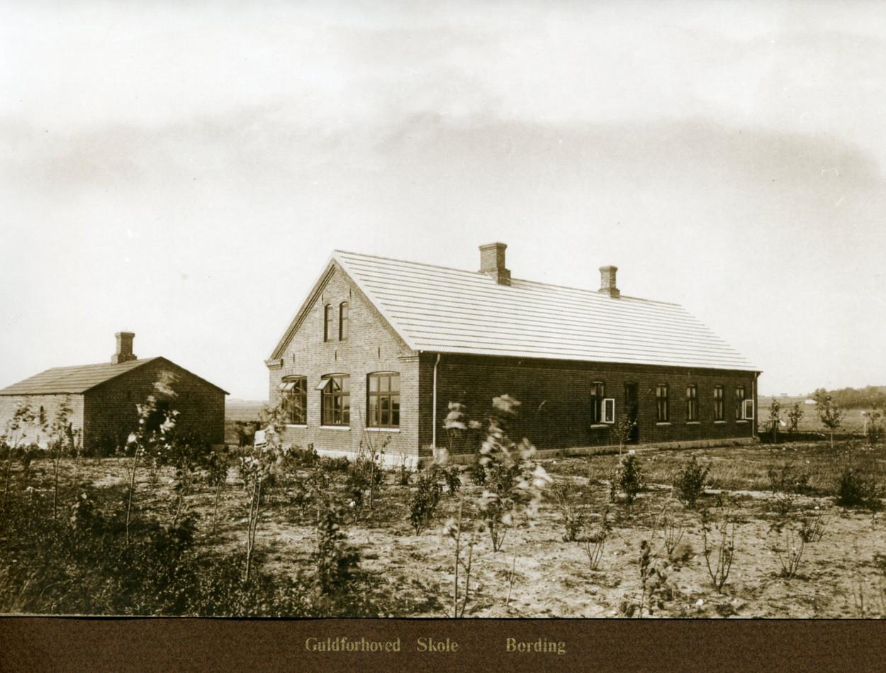 Guldforhoved skole1907-1957