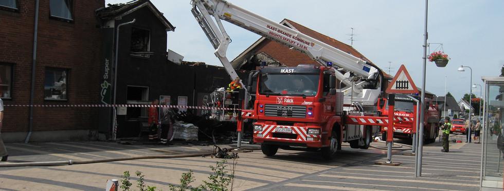 Branden 6. juli 2011