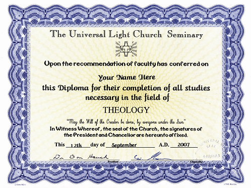 Diploma in Theology