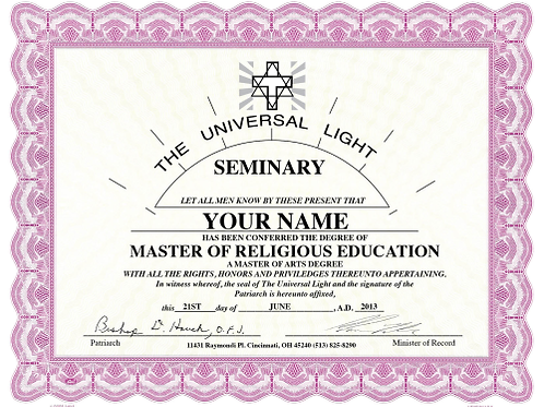 Master of Religious Education