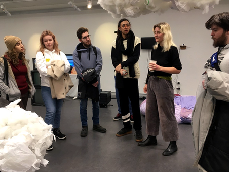 Exhibition talk and tour