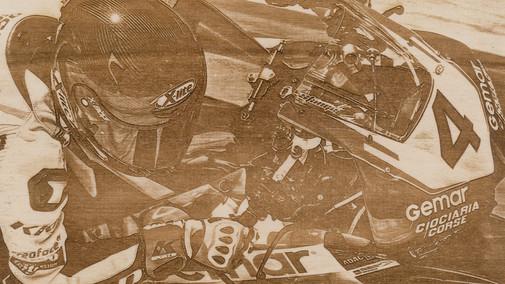 Holzbild Chris Stange