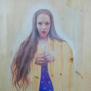 Selbstporträt im Raum