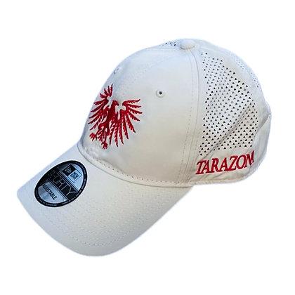 Águila Logo Hat - White/Red