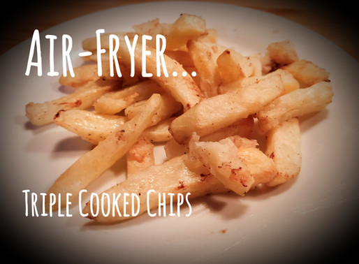 Air-Fryer Triple-Cooked Chips