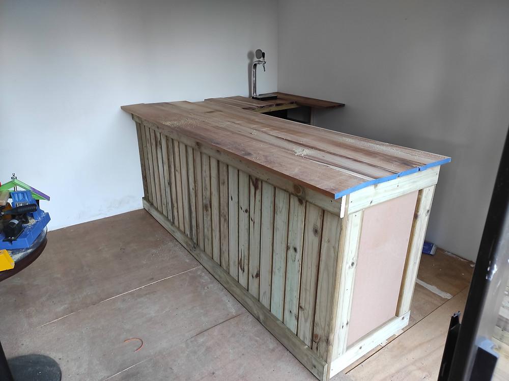 Part Built Gin Bar