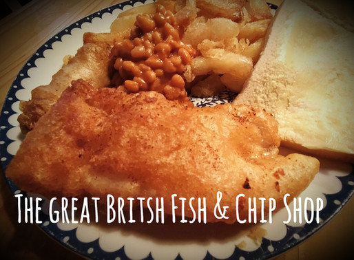 The Great British Institution: Chip Shop Fish & Chips