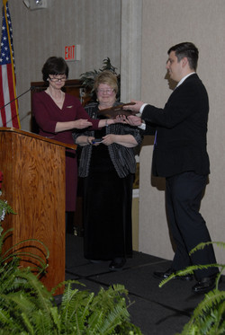 Austin Cherry Receives Award