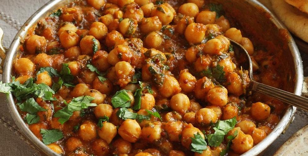 Chana Masala  (Chick pea curry)