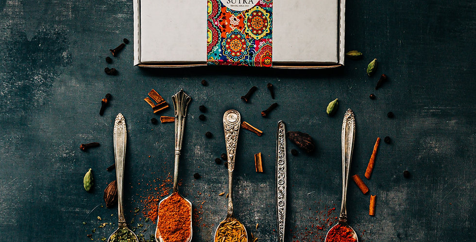 Learn to cook Indian spice kits-3 sets