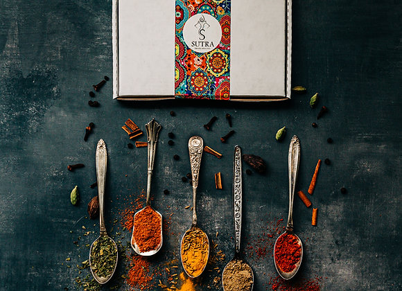 AUTHENTIC INDIAN SPICE GIFT BOX