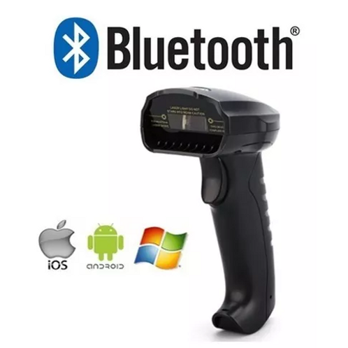 Lector de código de barras ,Bluetooth, wireless, sin base, tipo pistola