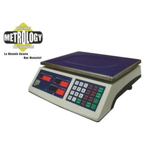 Bascula Metrology BPP-40 Puerto RS-232