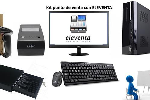 Kit de Punto de Venta con Eleventa *Sobre pedido*
