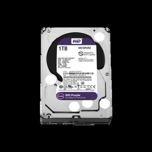 """Disco duro serial ATA II ,1TB ,3.5"""", WD Purple, 3 años garantía"""