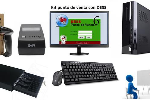 Kit de punto de venta con DESS V6