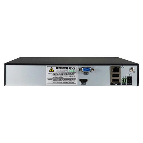 NVR STAND ALONE / 4 CH a 5 MP  / ONVIF