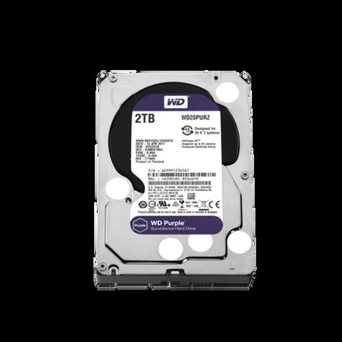 """Disco duro serial ATA III ,2TB ,3.5"""", WD Purple, 3 años garantía"""