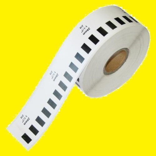 Rollo de etiquetas térmicas, DK2210 ,29mm x 30mts