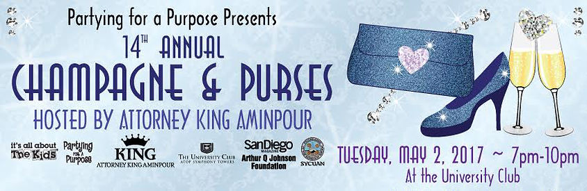 Champagne & Purses | Events For Adults