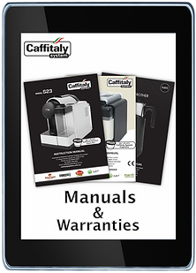 For all your Caffitaly System Manuals and Warranties