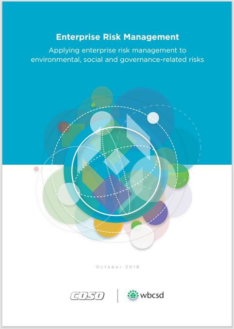 [COSO/wbcsd, 2018] 전사적리스크관리 - ESG 관련 리스크에 ERM(전사적리스크관리) 적용하기