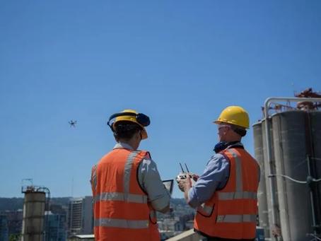 (건설 현장의) 리스크 파악 : 기업 드론 운영 강화를 위한 안전문화 조성