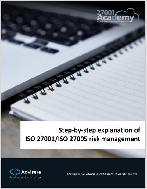 [Advisera] ISO 27001/27005의 리스크관리를 위한 단계별 설명 (백서)