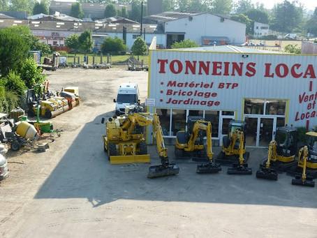 La société Tonneins Location 47 a choisi Connectic pour assurer le suivi de sa flotte