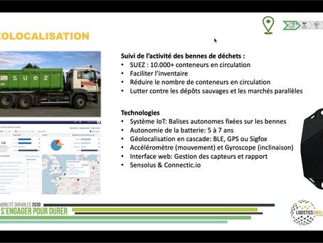 Webinar Track & Trace in Logistics & Industry organisé par Logistics in Wallonia