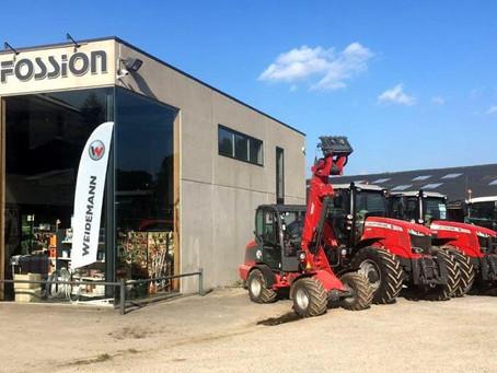 Nos solutions sont disponibles chez Lecomte-Fossion SA à Havelange (Province de Namur - Belgique)