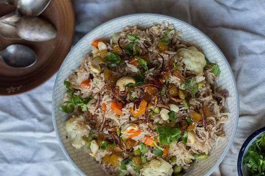 India - Swapnil Jadhav -Vegetarian Biryani