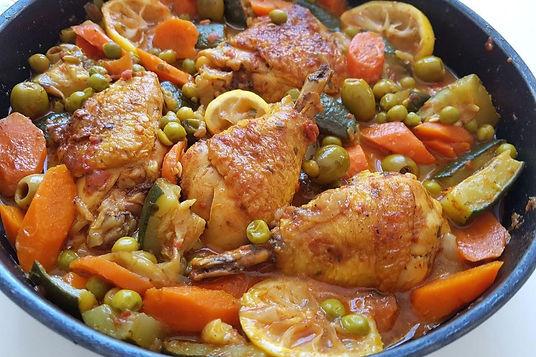 Morocco-Mounaime Kodssi-Chicken Tagine