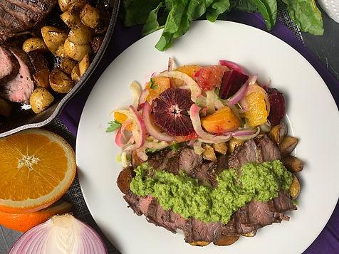 Unted States - Mathew Frances  - Chimichurri steak