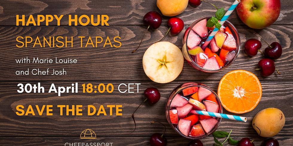 **FREE EVENT**  Happy Hour Spanish Tapas