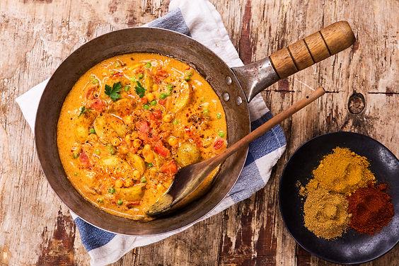 India -  Aditya & Richa - Vegetarian Curry
