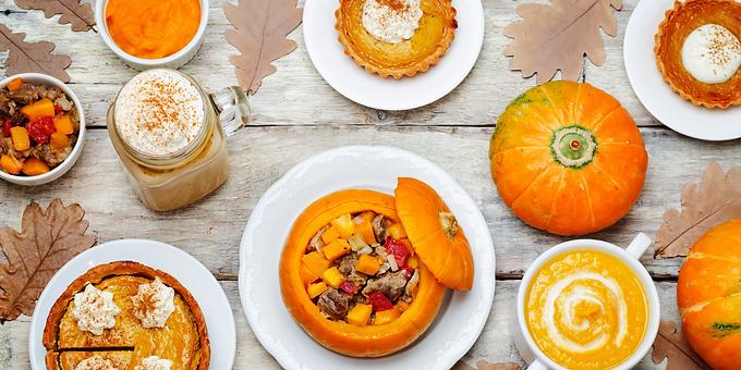 Pumpkin Powered Autumn Meals