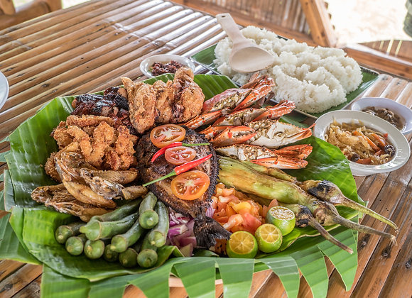 A Meal in The Philippines
