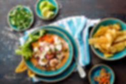 A Meal in Peru
