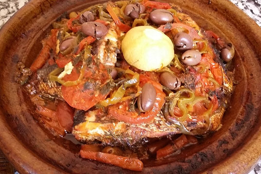 Morocco-Sofia-Lahlali-Fish Tangine with Vegetables